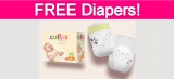 Free Sample by Mail of Diapers!