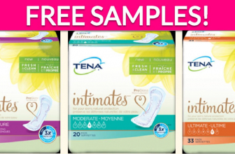 Free Samples by Mail of TENA Intimates