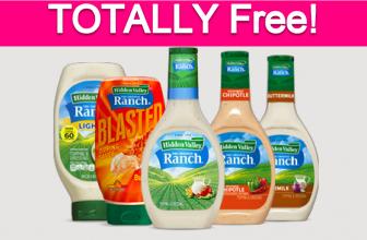 Free Hidden Valley Ranch Samples!
