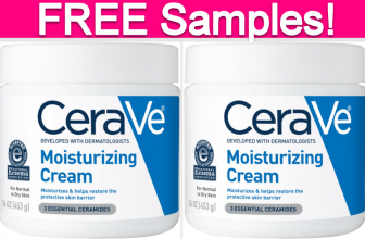 Free Samples by mail of CeraVe Moisturizing Cream!