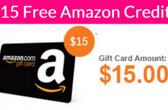 $15 FREE Amazon Credit !