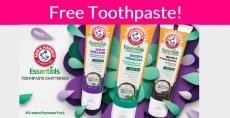 Free ARM & HAMMER™ Essentials Toothpaste !