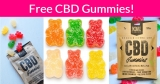 Free CBD Sour Bear Gummies Pack by mail!