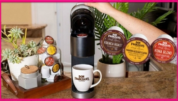 Totally FREE Don Francisco Coffee Pods!