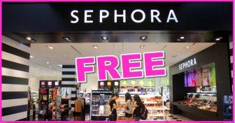 5 Ways To Get FREE Sephora!