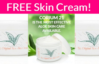 Super Easy Freebie – Free Skin Cream By Mail!