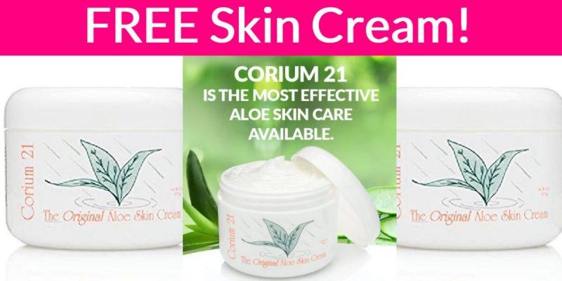 Super Easy Freebie – Free Skin Cream By Mail!