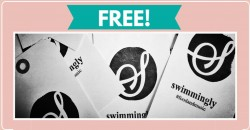 Free Sticker By Mail From Swimmingly !