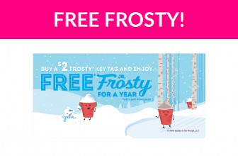 Free Wendy's Frosty ALL Year Long!