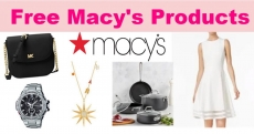 RUN – 100% Free Stuff From Macy's