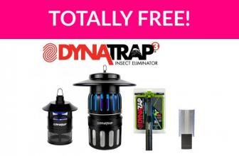 Free DynaTrap Bug-Free Backyard Kit!