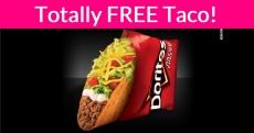 Taco Bell FEEDS America! Everyone gets a FREE Locos Taco!