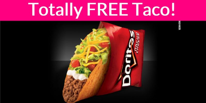 Taco Bell FEEDS America! Everyone gets a FREE Locos Taco!