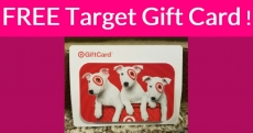 Free $5.00 Target Gift Card! So Easy!