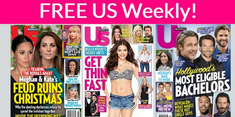 Totally FREE Us Weekly Subscription !