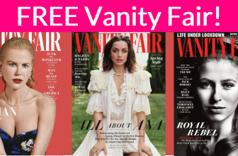 Free 1-Year Subscription to Vanity Fair !