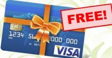 FREE Visa Gift Card ! { To Everyone! }