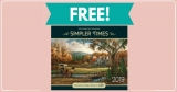 "TOTALLY FREE "" Simpler Times "" 2019 Wall Calendar !"