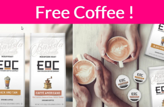 Possible FREE FULL Size Eight O'Clock® Coffee !