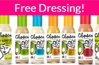 Totally FREE Free Dressing by Mail !