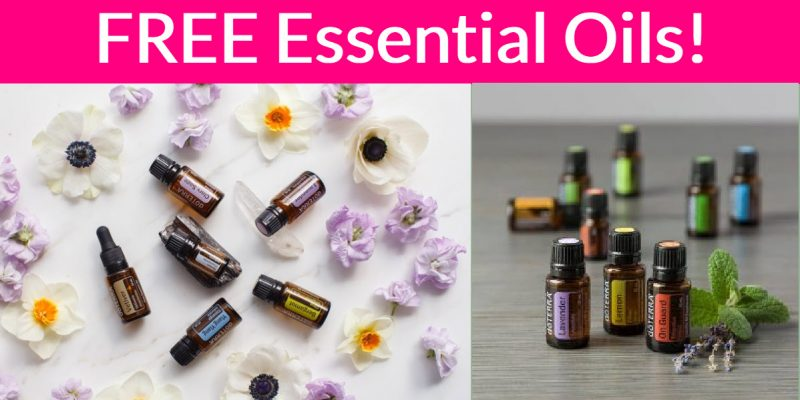 Free doTERRA Essential Oils Sample by Mail!
