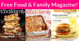 Free Food & Family Magazine !