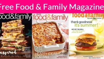 Free Food & Family Magazine !