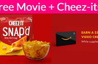 Free Amazon Digital Credit AND Free Cheez-Its!