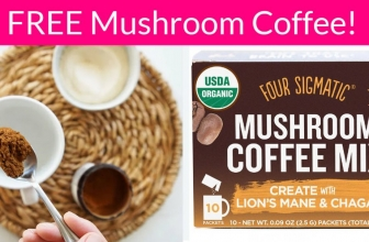 Totally FREE Mushroom Coffee. EVERYONE Will get a Sample!