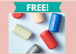 FREE Natural Deodorant – RUN – ONLY for the 1st 1,000 !