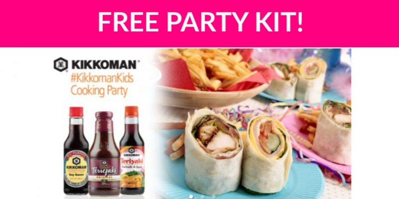 Free Kikkoman Kids Party Kit!