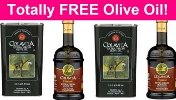 Possible TOTALLY FREE Colavita Olive Oil !