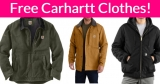 Possible FREE Carhartt Jacket and MORE!