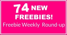 74 NEW FREEBIES This Week! ⭐ NEW Round-Up List!