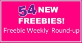 NEW! 54 NEW FREEBIES! Free Sample Weekly Round-Up !