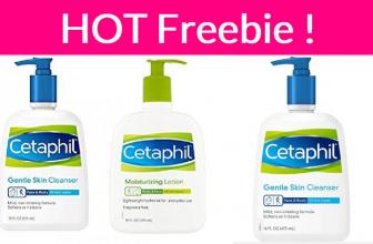 Free Sample of Cetaphil Face Wash!