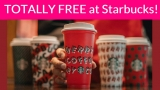 OMG! RUN! Free Re-usable Starbucks cups = TODAY ONLY!