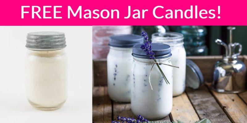 FREE Mason Jar Candles!