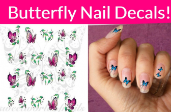 Free Butterfly Nail Decals!