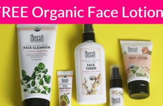 Possible Free Organic Face Lotion! [ Value: $19.99! ]