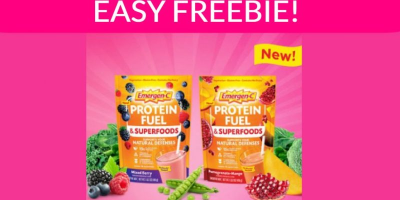 SUPER Easy Free Sample By Mail : emergenc !
