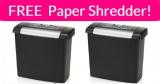 FREE GBC ShredMaster Shredder!
