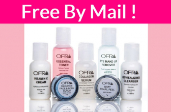 WOW! Free FULL SIZE Samples by Mail of  Ofra Cosmetics Skincare !