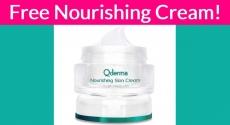 Free Nourishing Cream Sample By Mail !