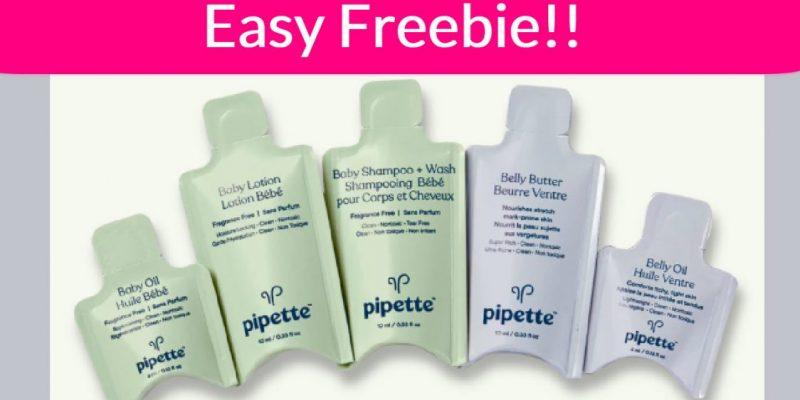 EASY Freebie! FREE Baby Care Sample Pack!