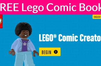 EASY  – FREE – Custom Lego Comic Book!