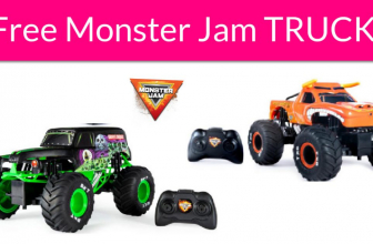 Free Monster Jam Remote Controlled Trucks!