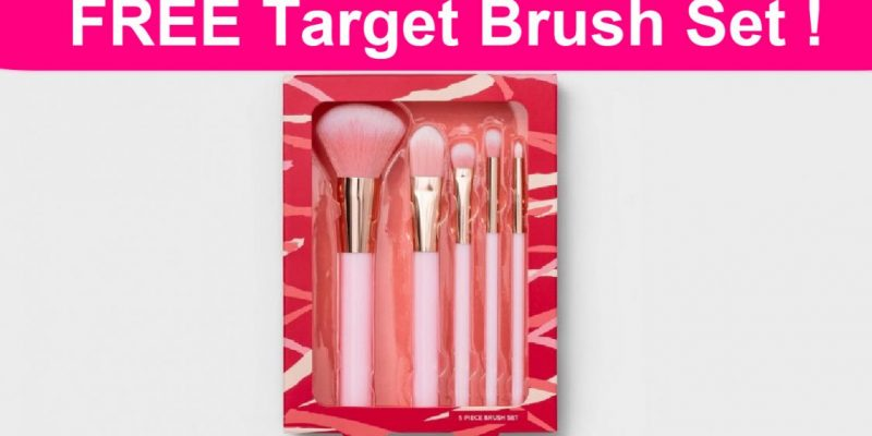 Free Target Beauty Brush Set!