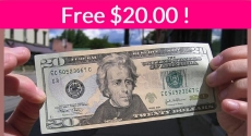 $20 FREE with Paypal ! Easy!
