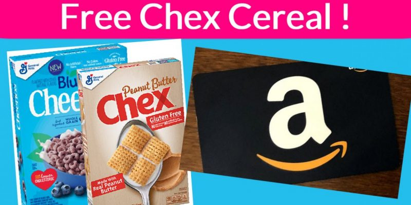 Free FULL Size Box of Cereal ! and A FREE Amazon Gift Card.